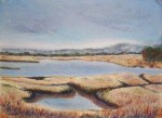 Marsh Study, Cape Cod Marsh - Fall