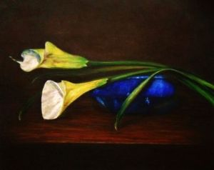 Callas and Blue Bowl