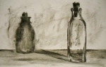 Ghost Bottle, charcoal