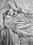 Sorrow, graphite