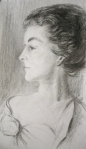 Study of Mrs. Richard Sears Based on John Singer Sargent
