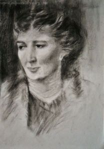 Study of Mrs. John Beals Mills