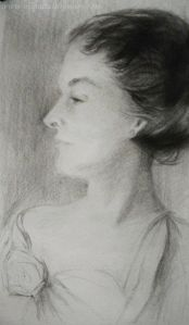 Study of Mrs. Richard Sears