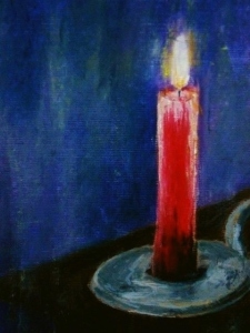 Red Candle, version #3