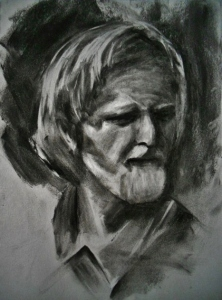 Study Based off of an Original Charcoal Drawing by Nathan Fawkes