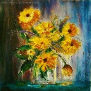 Coreopsis Early Sunrise with text