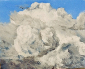 Acrylic Cloud Study 2
