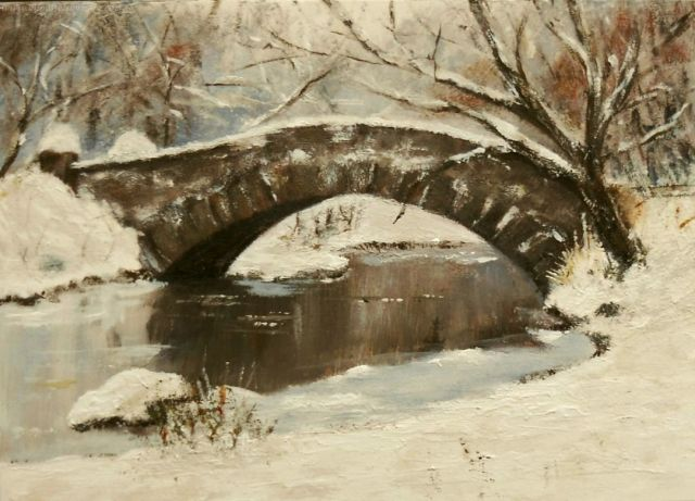 A Snowy Bridge
