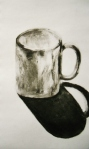 Cup, charcoal
