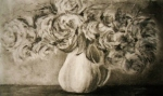 Flowers for You, charcoal