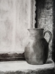 Jug at the Window, graphite
