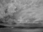 Storm Clouds, charcoal